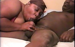 Chubby amateur sex video with me and my black hubby