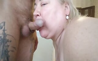 I Went To A Neighbor Added to Fucked Her In The Mouth, Filling It