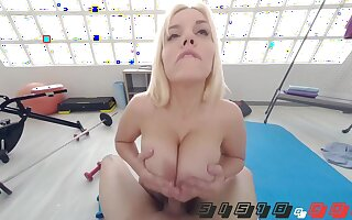Buxom botch incredible extremely hot clip